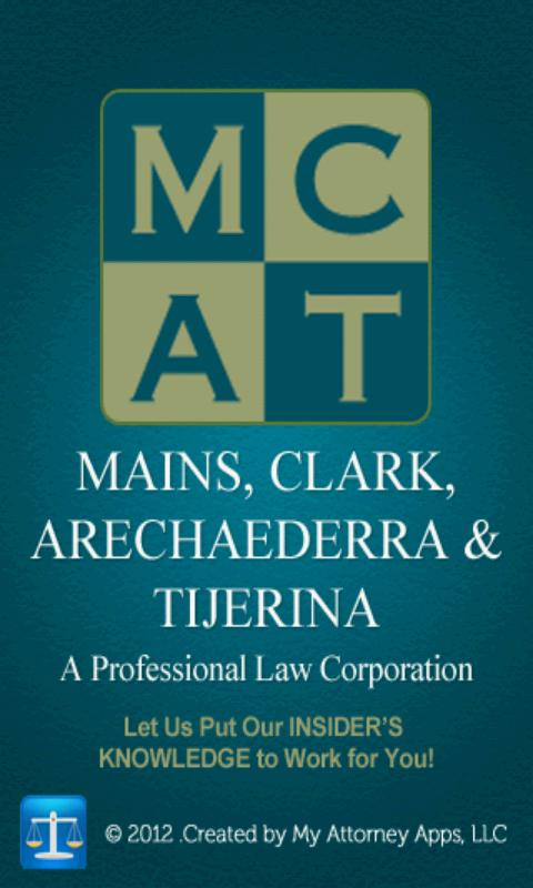 Mains Law app by Mains, Clark- screenshot