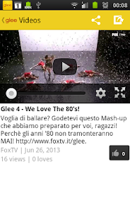 Glee Fan - screenshot thumbnail