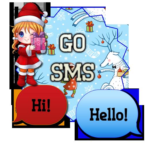SnowSanta/GO SMS THEME LOGO-APP點子