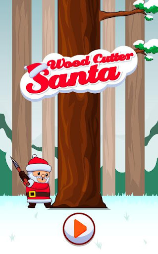 Wood Cutter Santa Claus