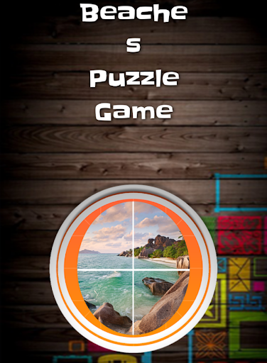 Beaches Slide Puzzle Game