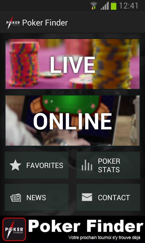 Poker Finder - screenshot