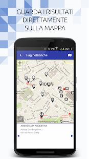 PagineBianche- screenshot thumbnail