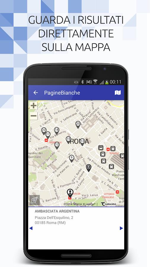 PagineBianche- screenshot
