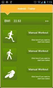 Trainer lite Run, walk & bike - screenshot thumbnail