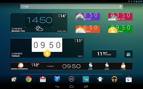 Beautiful Widgets Free- screenshot thumbnail
