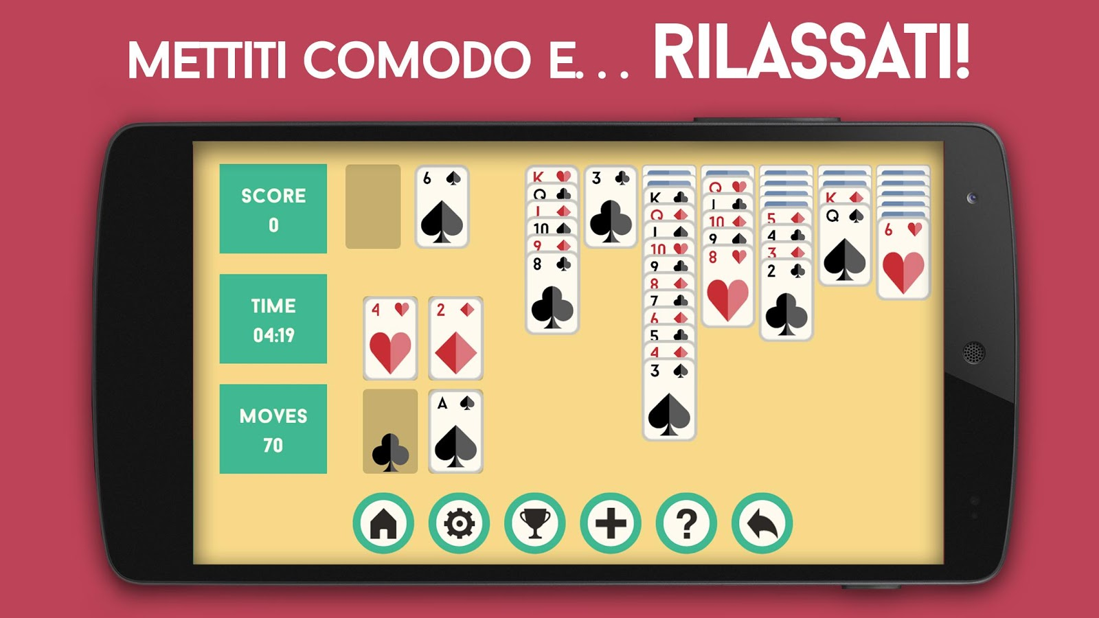 Solitario Classico- screenshot