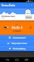Screenshot of SnowSafe