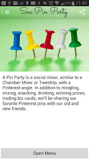 Sacramento Pin Party