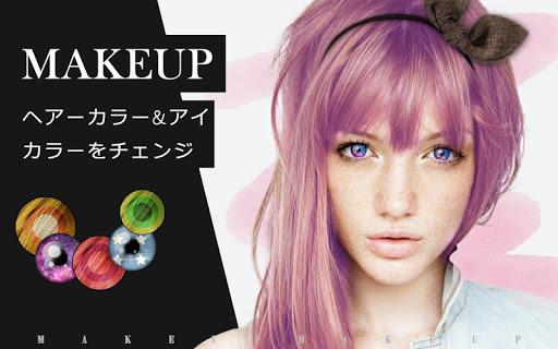 Makeup-おしゃれアイテム満載の髪染め カラコンアプリ