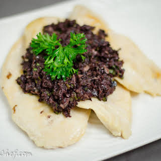 Chicken Breast with Olive Tapenade.