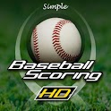 Simple Baseball Scoring HD logo