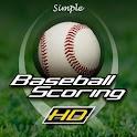 Simple Baseball Scoring HD logo