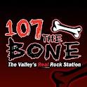 107.1 The Bone logo
