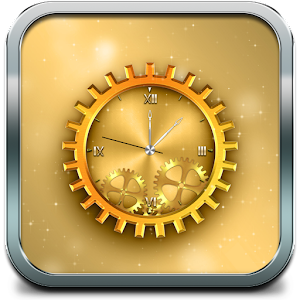 gold clock live wallpaper pro apk