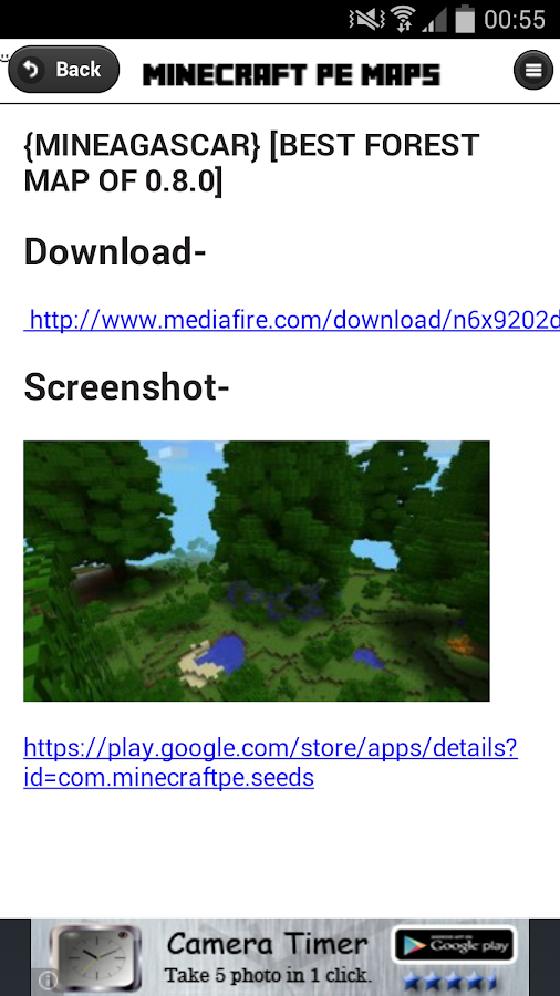 Maps - Minecraft PE- screenshot