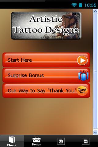 Artistic Tattoo Designs
