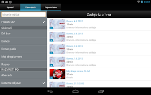 8 Planet Televizija App screenshot