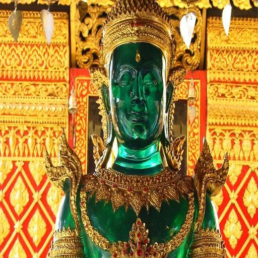 Emerald buddha live wallpaper LOGO-APP點子