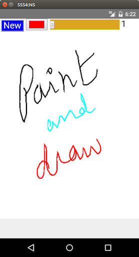 Paint and Draw