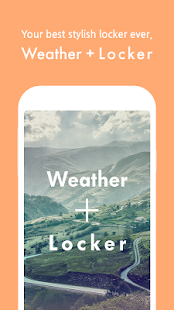 Weather + Locker - screenshot thumbnail