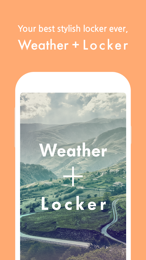 Weather + Locker - screenshot