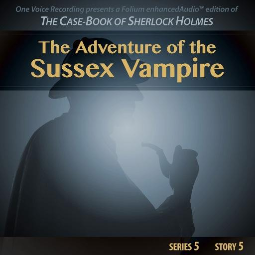 the adventure of the sussex vampire Autograph manuscript of the sherlock holmes story ''the adventure of the sussex vampire,'' signed (''arthur conan doyle'') on the upper cover of the binding.