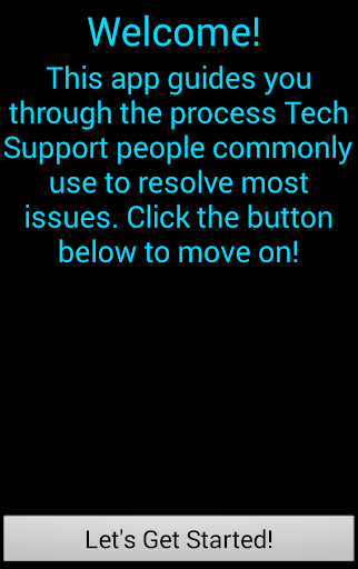 What Would Tech Support Do