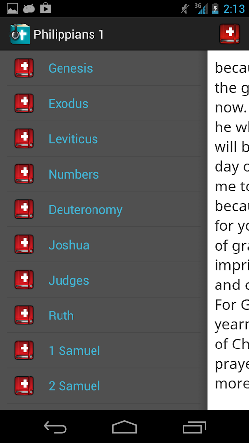 CrossConnect Bible (Beta) - screenshot