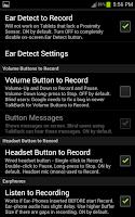 Screenshot of Amazing Audio Voice Recorder