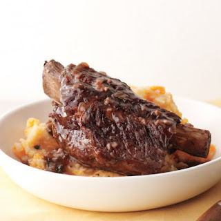 Beef Short Ribs with Potato-Carrot Mash