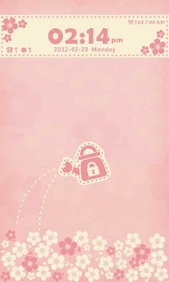 Flowerlove Theme GO Locker - screenshot thumbnail