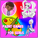 Coloring Games for Girls icon