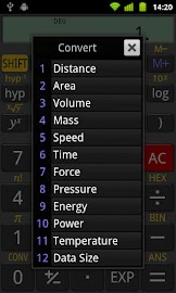 RealCalc Scientific Calculator Screenshot 3