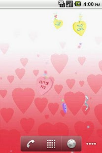 Valentine Candy LWP - screenshot thumbnail