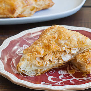 Buffalo Chicken in Puff Pastry.