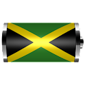 Jamaica – Flag Battery Widget logo