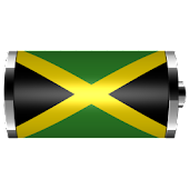Jamaica - Flag Battery Widget