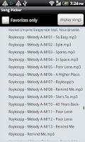 Screenshot of TRMP Random Music Player