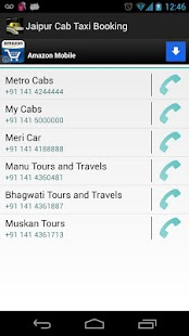 Jaipur Cab Taxi Booking - screenshot thumbnail