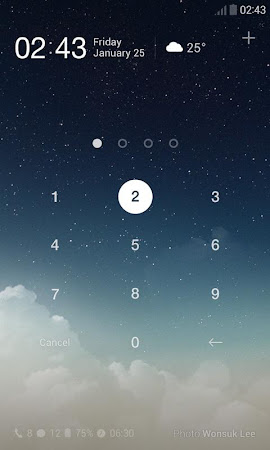 Sky Dream Dodol Locker Theme 1.0.1 screenshot 604584