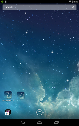 玩個人化App|馬頭星雲動態桌布免費|APP試玩