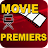 Best films and movie premiers logo