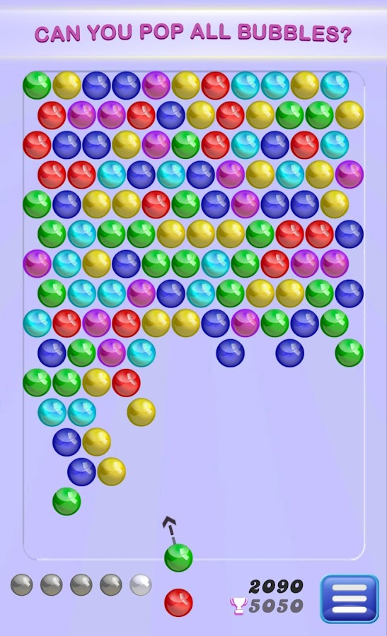 free bubble shooter app