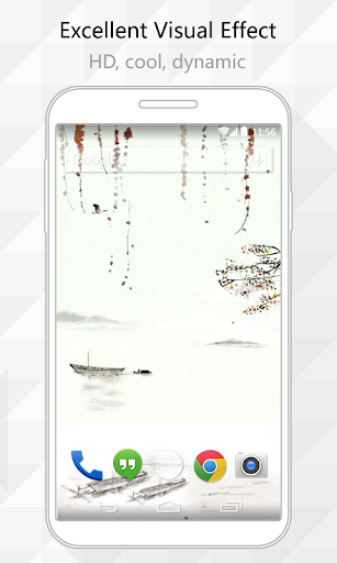 Ink Painting Live Wallpaper