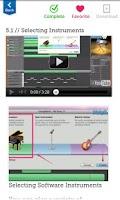 Screenshot of Learn GarageBand FREE