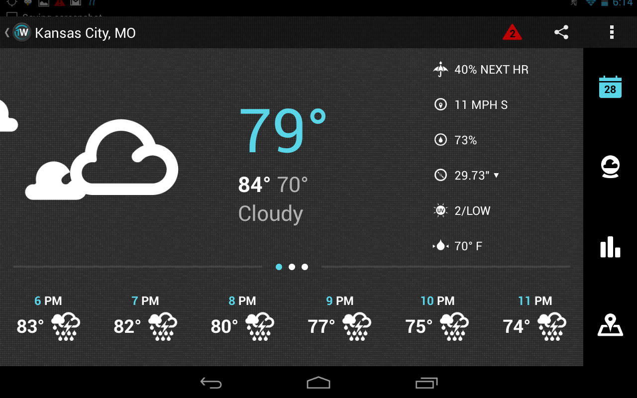 1Weather:Widget Forecast Radar - screenshot
