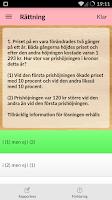 Screenshot of iHögskoleprov