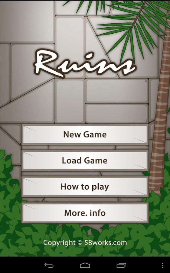 Ruins - escape game -- screenshot