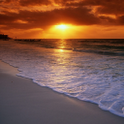 Best Sea Sunrise Sunset LWP icon